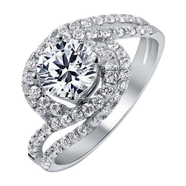 1克拉鑽石戒指