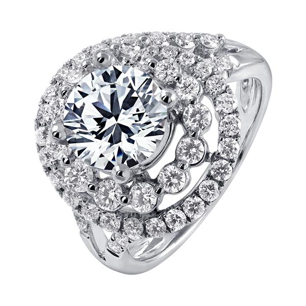 2克拉鑽石戒指