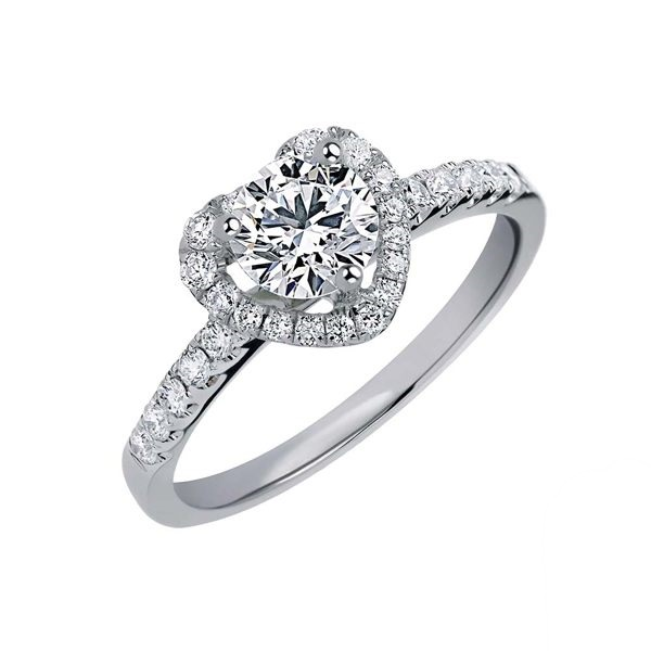 GIA 1克拉鑽石戒指